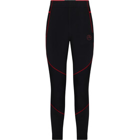 La Sportiva Primal Pantaloni Uomo, nero/rosso